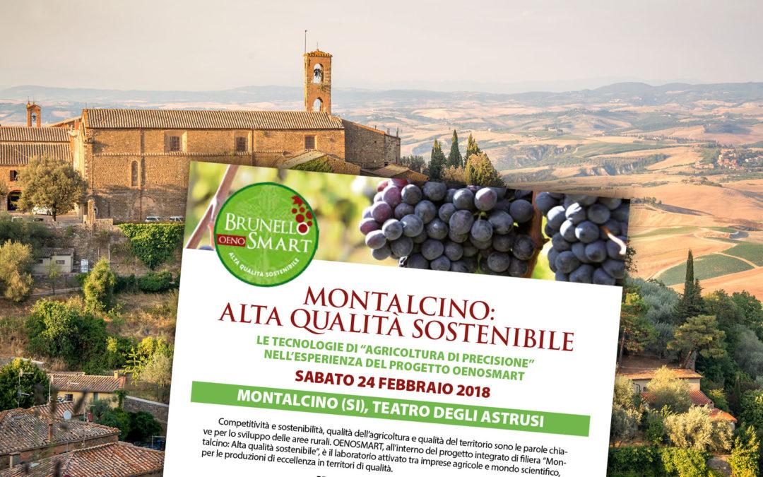 """Uso delle tecnologie di """"agricoltura di precisione"""": dati e prime indicazioni per le imprese agricole di Montalcino"""